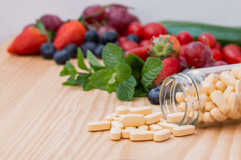 Multivitamin and mutimineral pills, nutritional Supplement